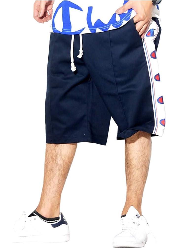 富豪ギャラリーズームチャンピオン (Champion) ハーフパンツ メンズ ショーツ ヨーロッパライン 春 夏 秋 b系 ストリート系 ファッション 213075 2カラー [並行輸入品]