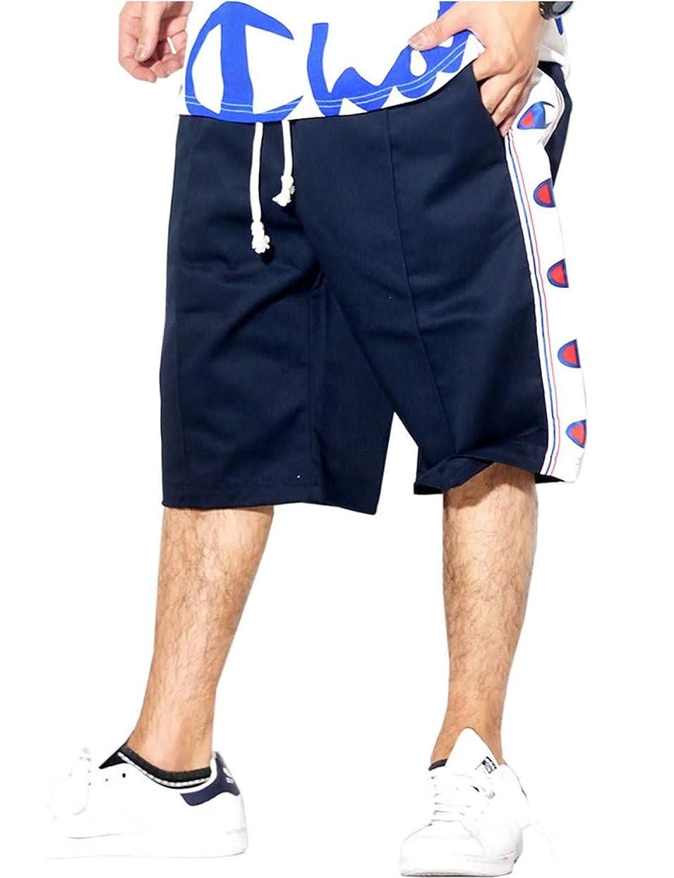 優遇適度に雨チャンピオン (Champion) ハーフパンツ メンズ ショーツ ヨーロッパライン 春 夏 秋 b系 ストリート系 ファッション 213075 2カラー [並行輸入品]