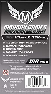 Mayday Games Magnum Platinum Card Sleeve - Dwarf King