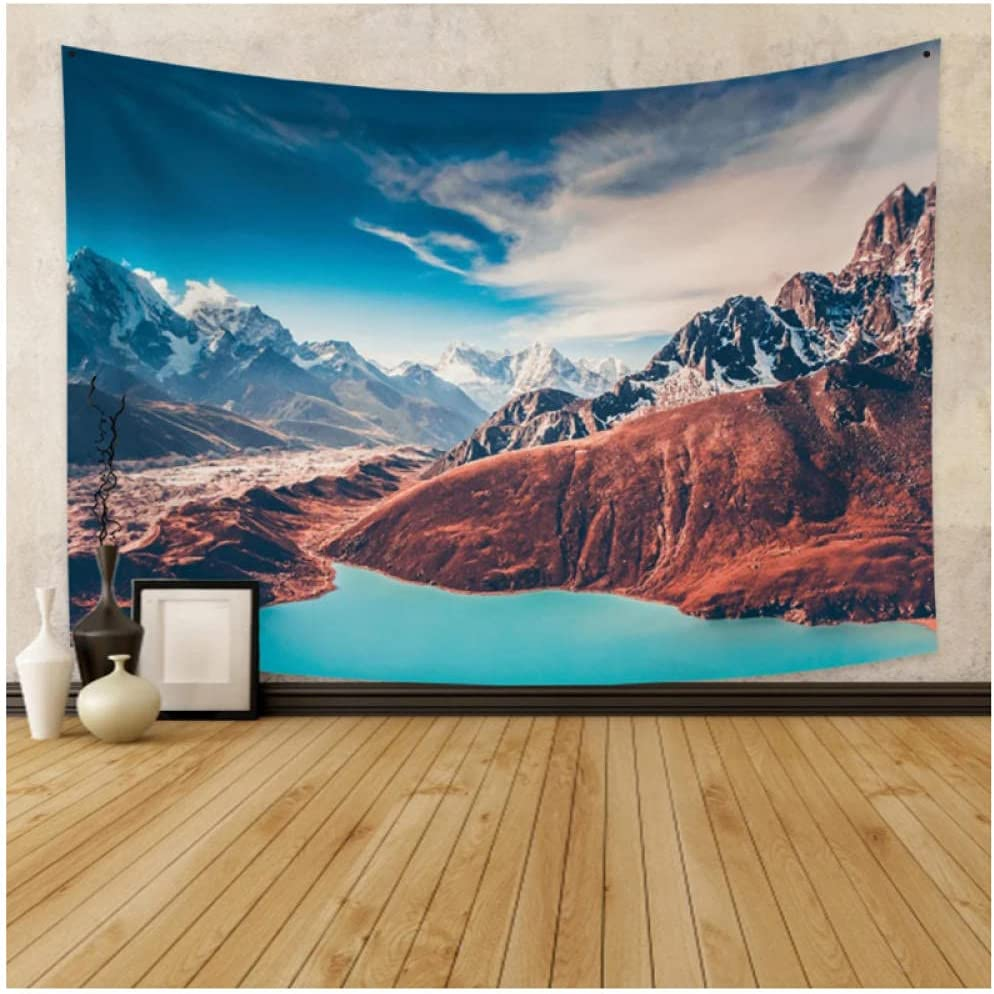 Tapestry by BD-Boombdl Snow Mountain Cloud 2021 autumn and winter new Sea Wall Han New product! New type