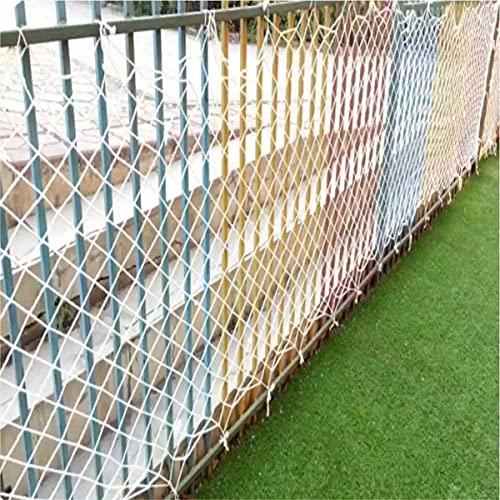 Red De Seguridad Para Niños, Red De Seguridad Para Barandillas De Balcón De Escaleras, Red De Protección Anticaídas Para Edificios Al Aire Libre, Red Para Vallas De Jardín(Size: 1×1m(3×3ft),Color:5cm)