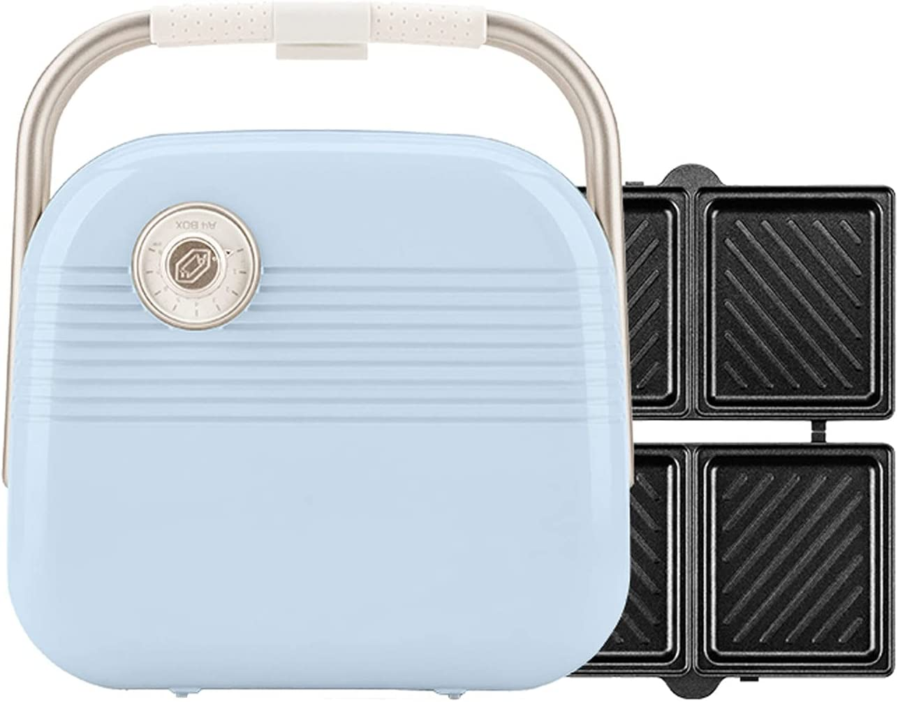 MUMUJJ Sandwich NEW before selling ☆ Maker 2-in-1 900W Grill Electric Ranking TOP15 Panini Toaster