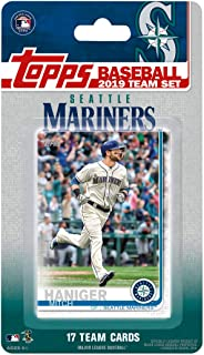 Seattle Mariners 2019 Topps Factory Sealed Special Edition 17 Card Team Set with Felix Hernandez and Jay Bruce Plus