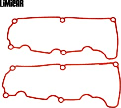LIMICAR Valve Cover Gasket Set VS50529R Compatible with 2001-2011 Ford Ranger 2000-2010 Ford Explorer 2001-2010 Mazda B4000 Mercury Mountaineer