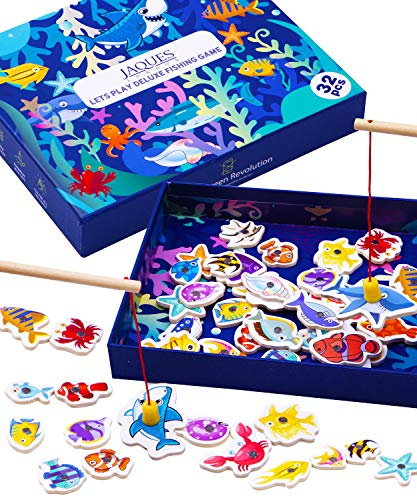 Jaques of London Wooden Toys Fis...