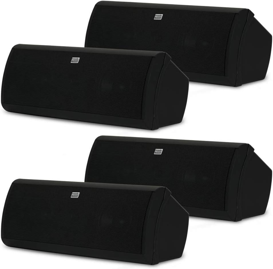 Acoustic Nashville-Davidson Mall Max 81% OFF Audio AA40CB Indoor 3 Way Black Watts Speakers Boo 2000