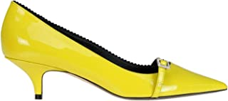 N°21 Women's MCGLCAT000006016I Yellow Leather Heels