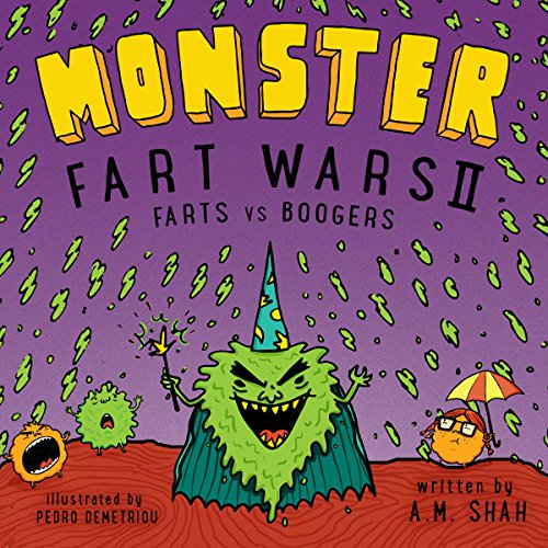 Monster Fart Wars II audiobook cover art