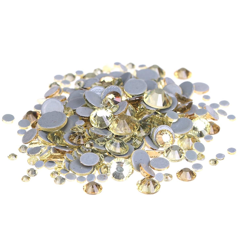 残高聖歌縞模様のNizi ジュエリー ブランド ジャンキル ホットフィックスラインストーン は ガラスの材質 衣類 ネイル使用 型番ss6-ss30 (SS10 1440pcs)