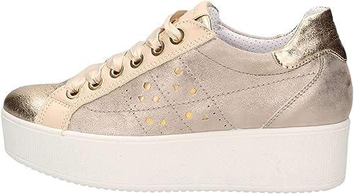 IGI&CO IGI&CO IGI&CO Chaussures pour Femmes paniers avec Plateforme 3155922 Platino b80
