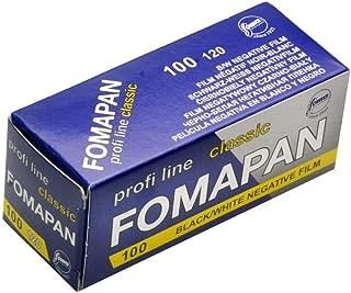 Foma Fomapan 100 ISO Black & White Negative Film, 120 Size