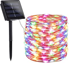 findyouled Solar String Lights Outdoor, 20m 200 LED Solar Powered String Fairy Tree Light with 8 Lighting Modes,Waterproof...
