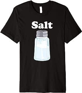 Salt for Salt and Pepper BFF Matching Halloween Costume Premium T-Shirt