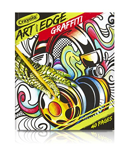 Crayola Art with Edge, Graffiti Adult Coloring Book