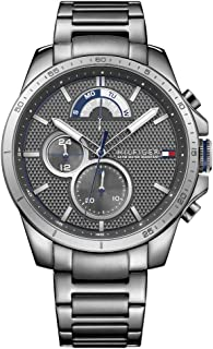 Tommy Hilfiger Men's 1791347 Cool Sport Analog Display Quartz Grey Watch