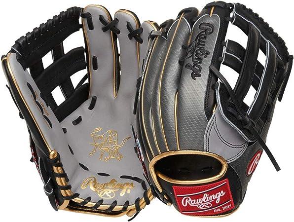 Rawlings Luva de beisebol modelo Heart of The Hide Bryce Harper, Pro H Web, 33 cm, mão direita, prata/preta : Amazon.com.br: Esporte