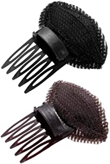 Tixiyu 2 Stks Voorhoofd Haar Volume Pluizige Puff Sponge Pad Clip Kam Insert Tool Base DIY Prinses Styling Verhoogde Haar ...