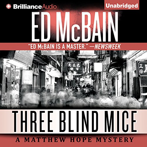 Three Blind Mice audiobook cover art