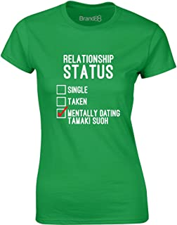 Mentally Dating Tamaki Suoh, Ladies Printed T-Shirt