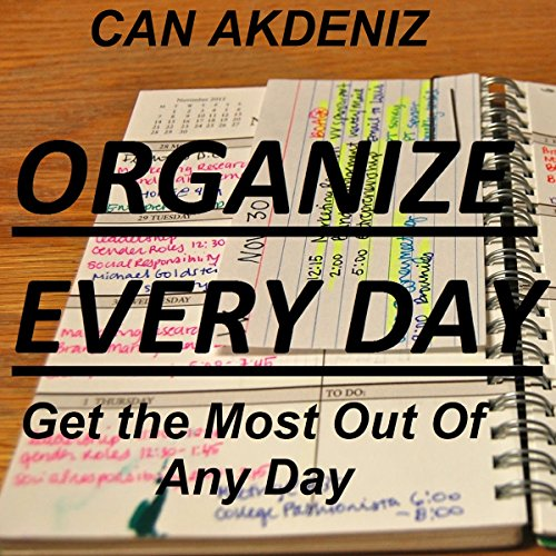Organize Every Day audiobook cover art