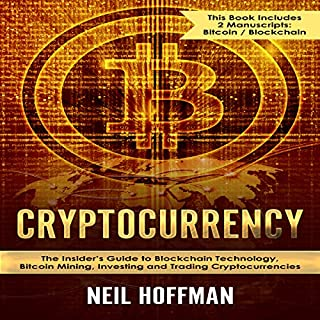Cryptocurrency: Bitcoin, Blockchain, Cryptocurrency audiobook cover art