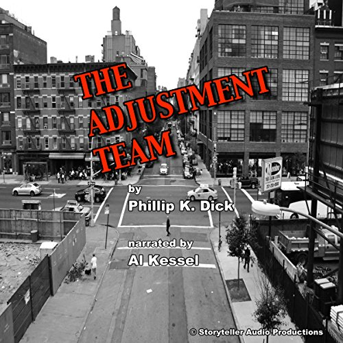 The Adjustment Team audiobook cover art