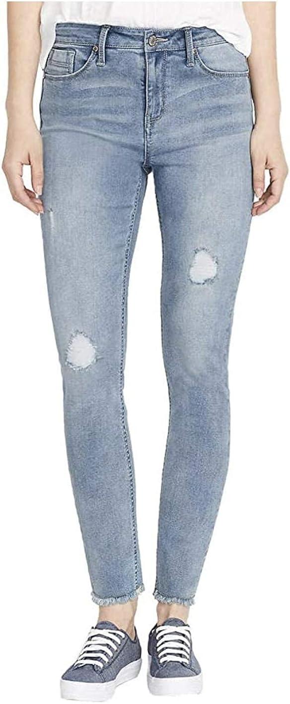 Columbus Mall BUFFALO David Bitton Rip Repair B Skinny Light Jeans Mid-Rise Popular brand