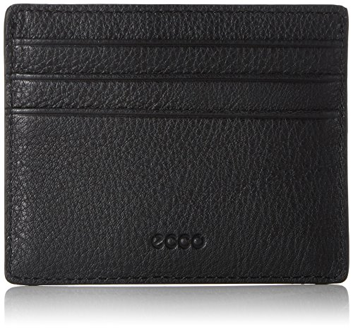 ECCO Herren Jos Slim Card Case 9104998 Ausweis- & Kartenhülle, Schwarz (Black 90000)