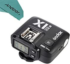 Godox X1R-N TTL 2.4G Wireless Flash Trigger Receiver for Nikon DSLR Camera for X1N Trigger +Andoer Cleaning Cloth