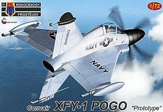 KPモデル 1/72 アメリカ海軍 コンベア XFY-1 ポゴ プロトタイプ プラモデル KPM0258