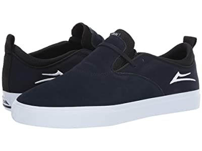 Lakai Riley Hawk 2 (Navy Suede) Men