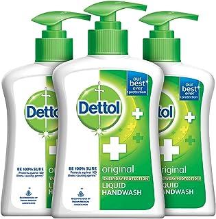 Dettol Original Liquid Hand Wash - 200 ml Each(Pack of 3)