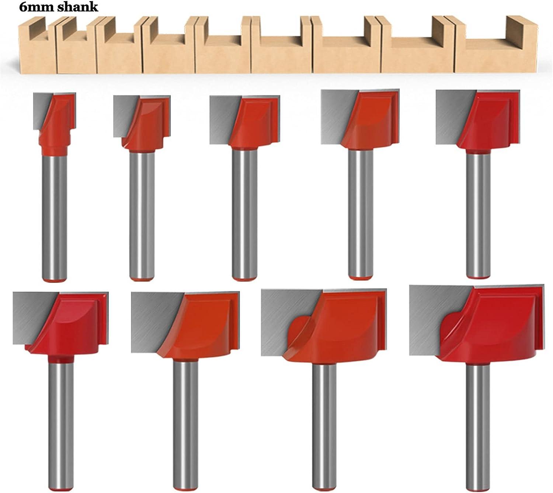 JINLI-CASE RRRren 6 8mm Shank Bit T Woodworking Milwaukee Max 55% OFF Mall Router Engraving