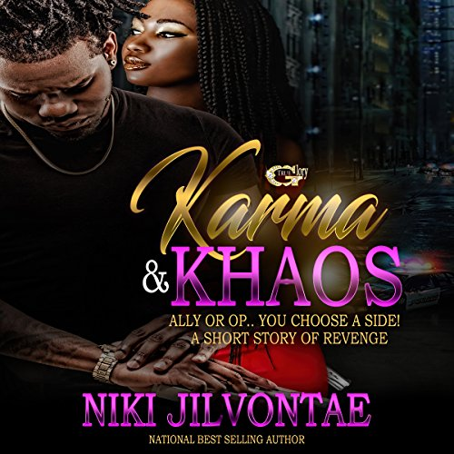 Karma & Khaos audiobook cover art