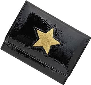 極小財布 進藤やす子コラボ(星型×エナメルブラック) BECKER 日本製