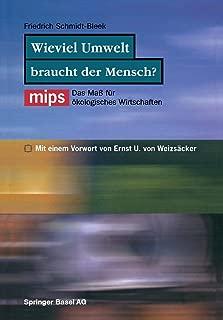 Wieviel Umwelt braucht der Mensch? (German Edition)