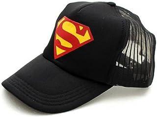 d631914a7d942d Michelangelo Superman Black HALF NET Cap For Men/Girl/Womens UNISEX CAP