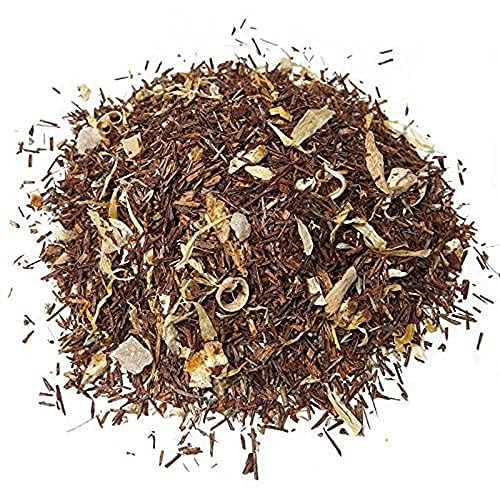 Aromas de Té - Té Infusión Rooibos - Con Piña, Azahar, Caléndula, Tomillo, Limón y Naranja - Rica en Vitamina C - Ideal para el Proceso Catarral - Adelgazante - 100 gr