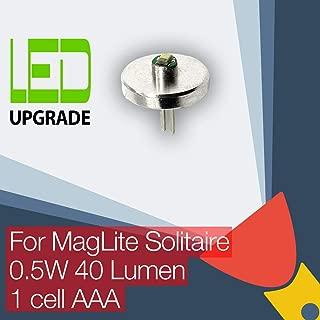 MagLite Solitaire LED de repuesto bombilla conversión/kit