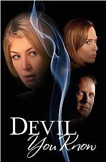 Canvas Wall Art Affischer och tryck Devil You Know Filmmålning Bilder för vardagsrum Heminredning -50x70 cm Ingen ram 1ST