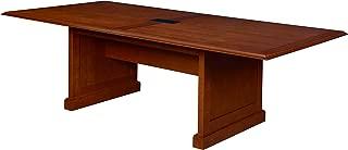 Regency Prestige Traditional Veneer Rectangular Conference Table, 120-inch, Cherry