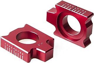 WSGGFA Achteras Blokkit Kettingregelaar voor YZ125 YZ250 YZ250F YZ450F YZ125X YZ250FX YZ450FX WR250F WR450F WR250R WR250X ...