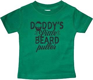 inktastic - Daddys Little Beard Puller Baby T-Shirt 302d8