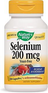 Nature's Way Selenium, 100 Capsules (Pack of 2)