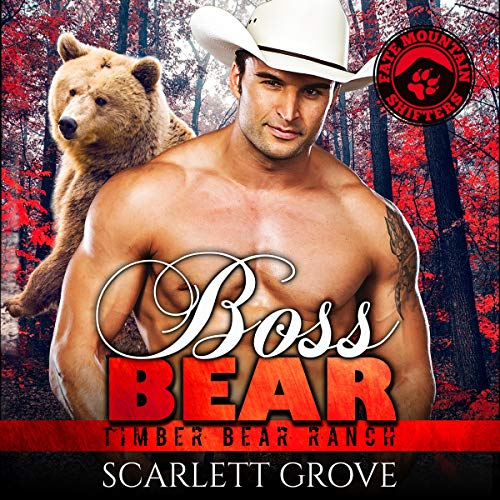 Boss Bear audiobook cover art