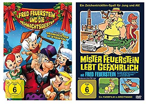 Familie Feuerstein Doppel-Pack: Fred Feuerstein und die Weihnachtsgeister / Mister Feuerstein lebt gefährlich (2 DVDs)