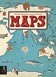 Children's books about Travel: The cover of the book Maps