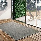 UNIVERSAL Alfombra Indoor-Outdoor Bliss Degraded, 100% Polipropileno, Oro, 55 x 110 cm