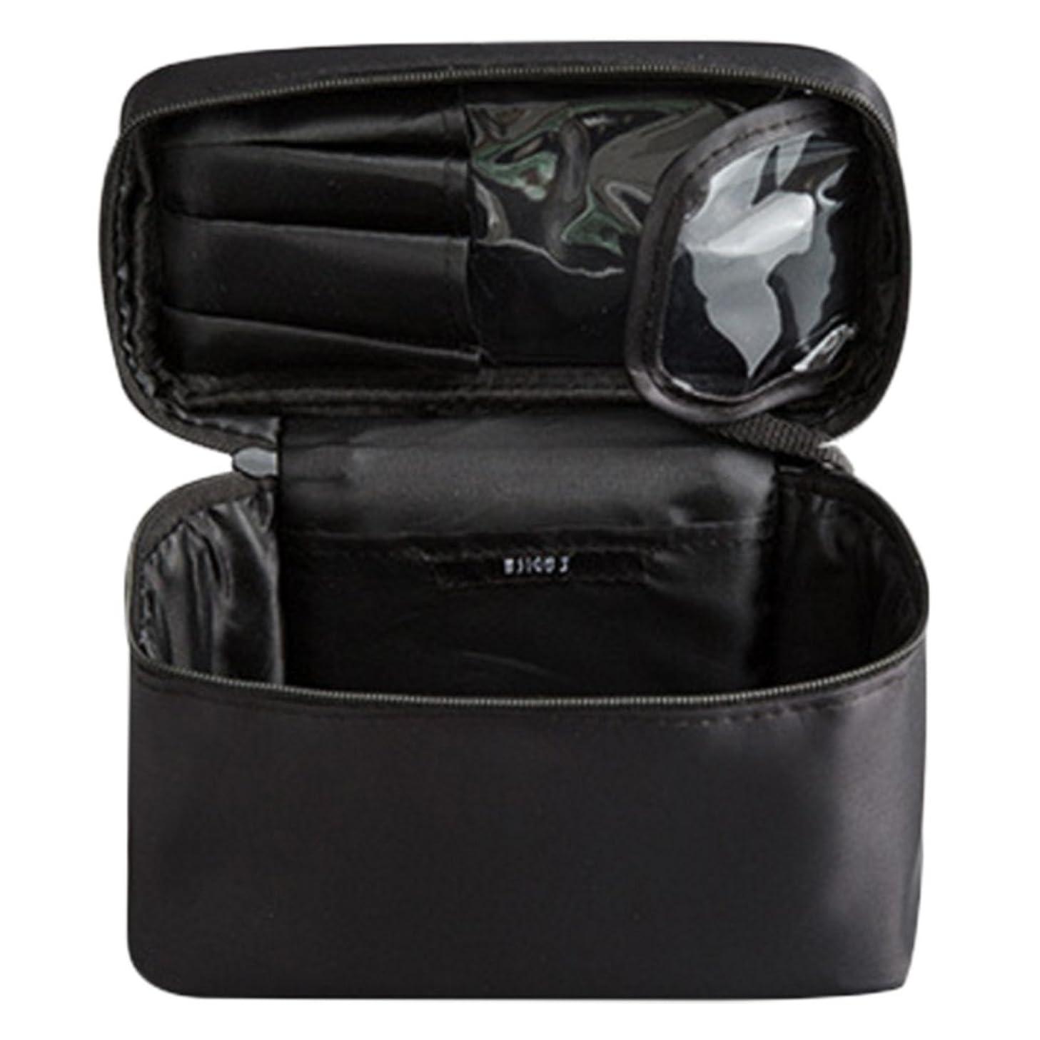 隠す長さ株式会社メイクポーチ 化粧ポーチ コスメバッグ メイクボックス トラベルポーチ メークバッグ ハンドバッグ 化粧品収納バッグ 化粧箱 ドレッサー 化粧品 収納 雑貨 小物入れ 女性  超軽量 機能的 大容量 二種類