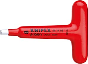 Knipex 98 14 06 Screwdriver For Hexagon Socket Screws With T-Handle, 120 mm
